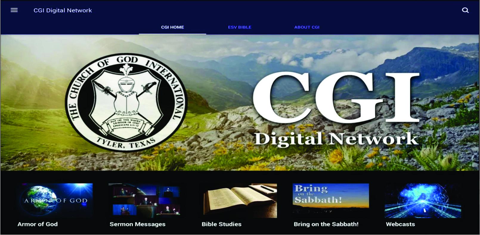 cgi digital network